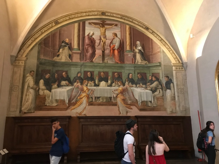 A Fresco of the Last Supper